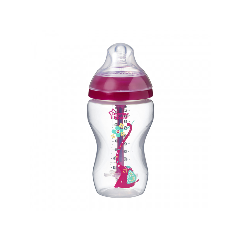 Tommee Tippee Butelka antykolkowa Advanced Girl 340 ml 3 m+