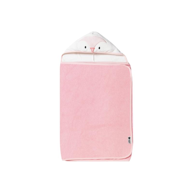 Osuška s kapucňou Hug 'n' Dry 6-48 Penny Pink