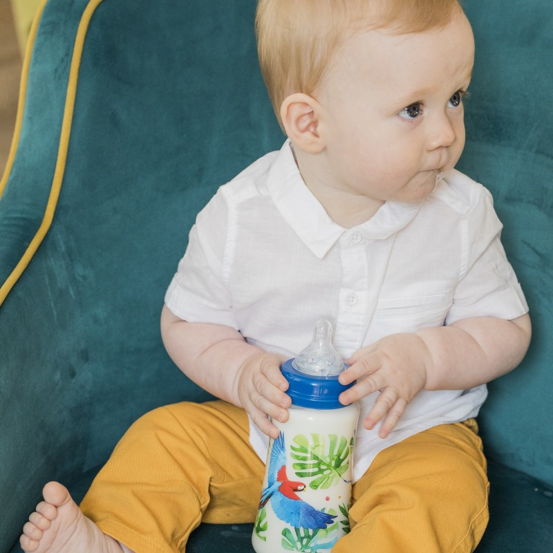 Butelka dla niemowląt Tommy Lise 125 ml Feathery Mood