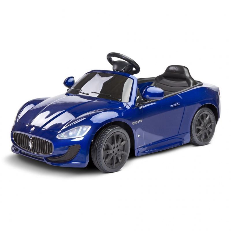 Maserati Gran Cabrio Niebieskie auto na akumulator + PILOT