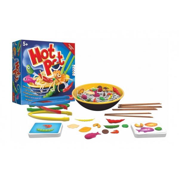 Hot Pot - Złap je wszystkie tak szybko, jak to tylko możliwe! gra planszowa