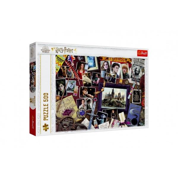 Puzzle Harry Potter / Rokfortskej spomienky 500 dielikov 48x34cm v krabici 40x27x4cm