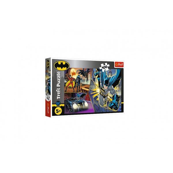 Nieustraszony Batman Puzzle 100 sztuk
