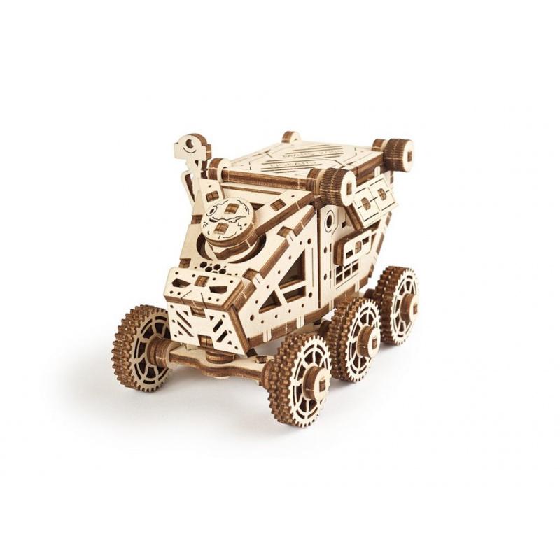 Ugears 3D drevené mechanické puzzle Bugina z Marsu