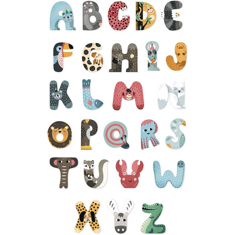 Vilac Zvieratková abeceda 1ks písmenko A
