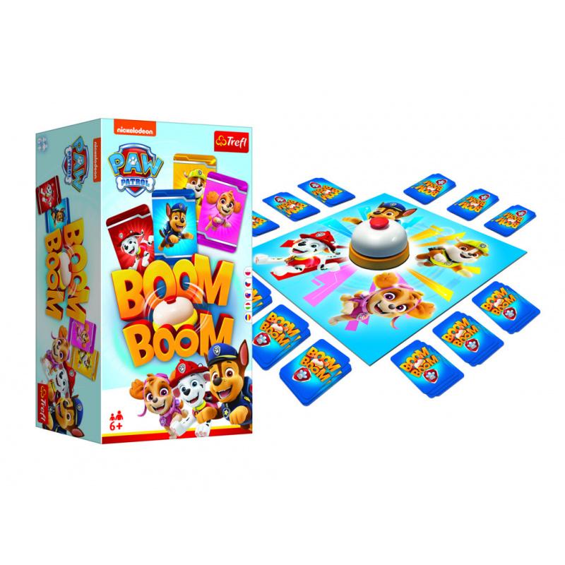 Společenská hra Boom Bomm - Tlapková patrola