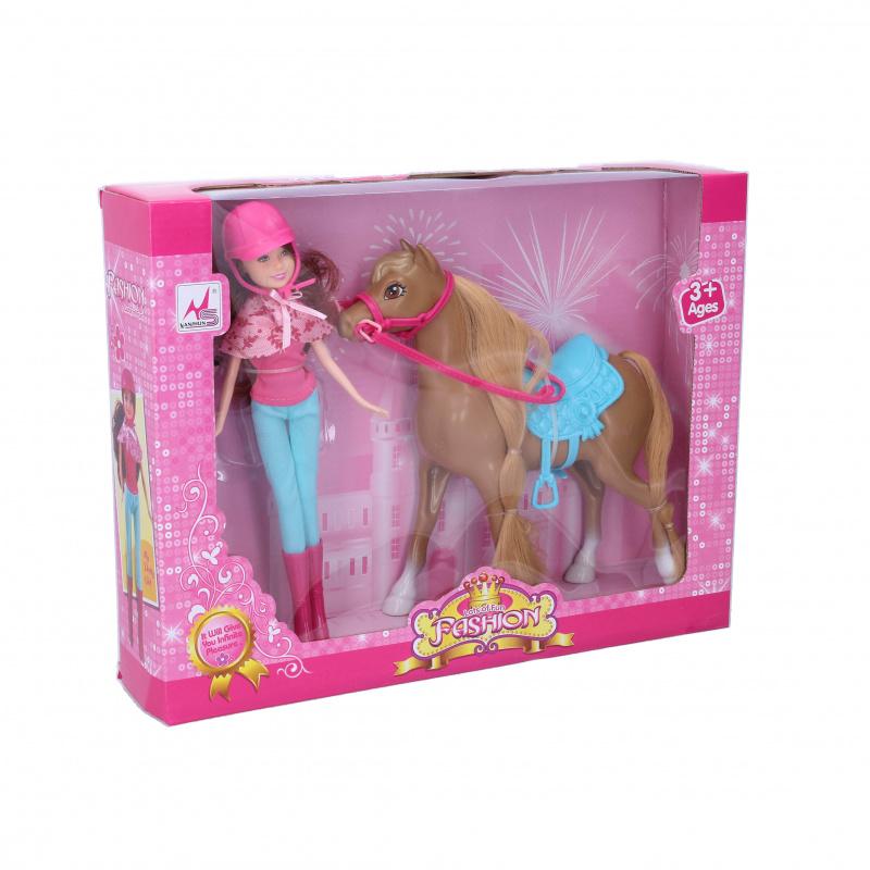 Panenka s koněm, 21 cm