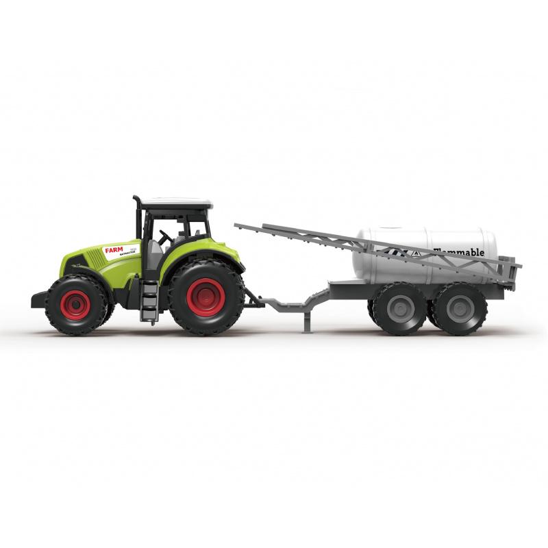 Traktor s prívesom na postrek 31 cm