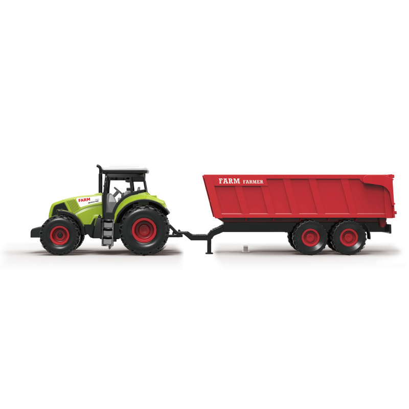 Traktor s vlečkou a efekty 36 cm