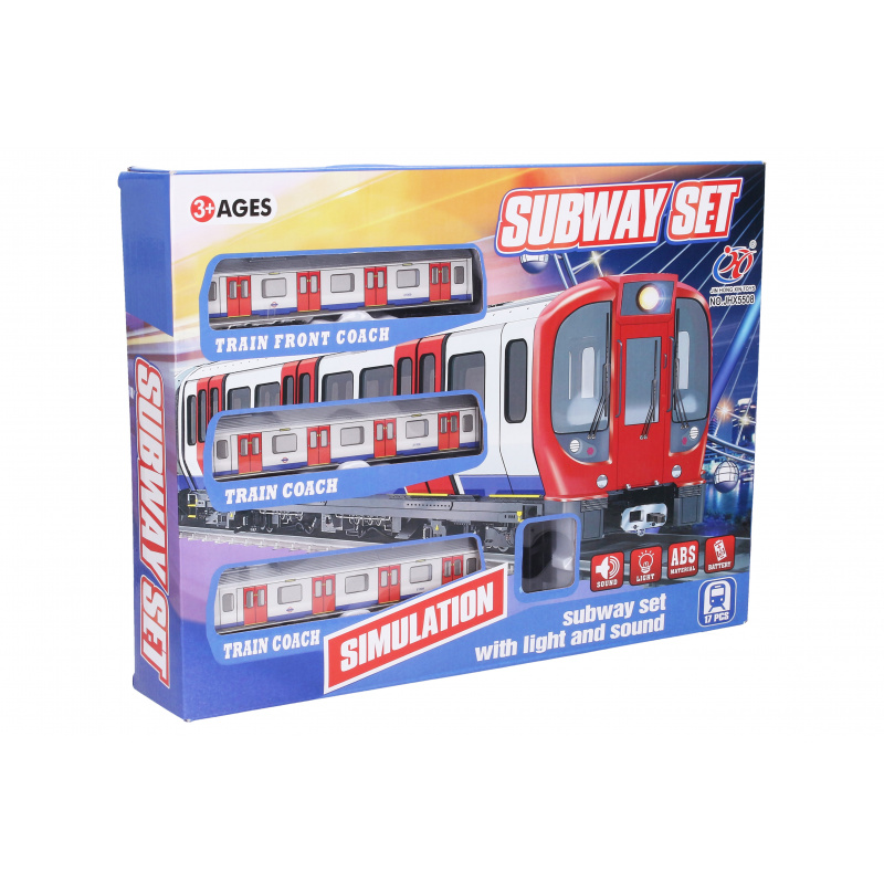Vlak metro - šírka trate 88 cm
