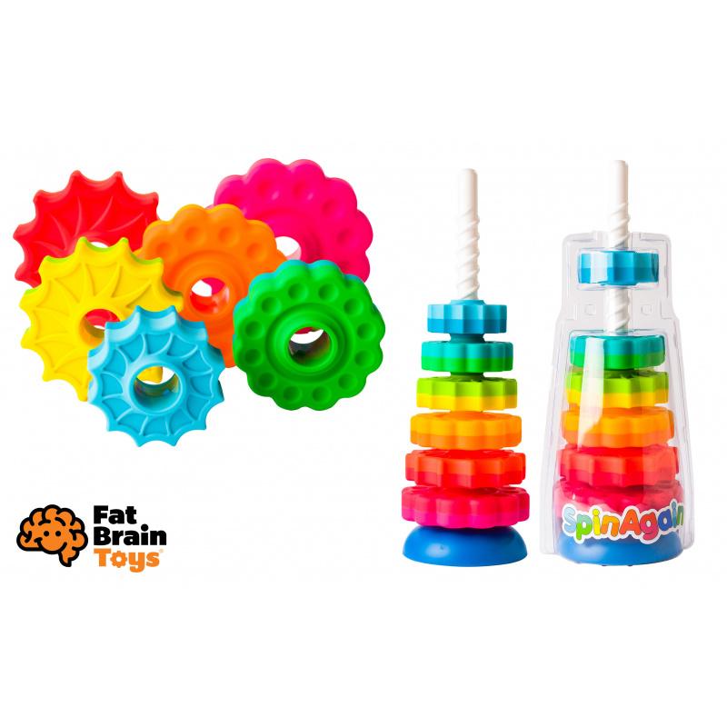 Fat Brain Věž s disky SpinAgain