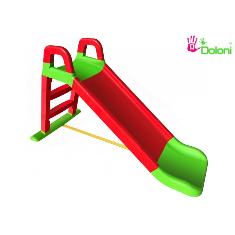 Dolon Šmýkačka 140 cm červeno-zelená