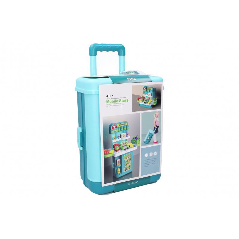 Pokladňa set stolík v kufríku 49 x 24 x 61,5 cm