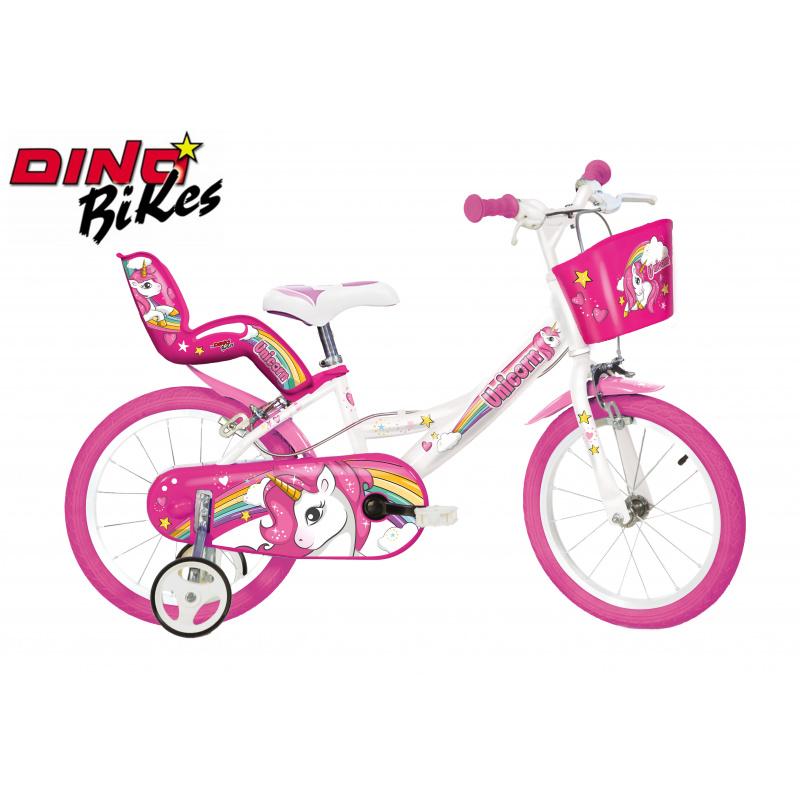 Dino Bikes Dětské kolo Jednorožec