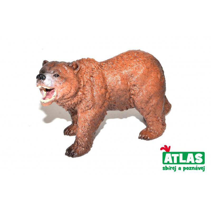 Figúrka Medveď Grizzly 11 cm