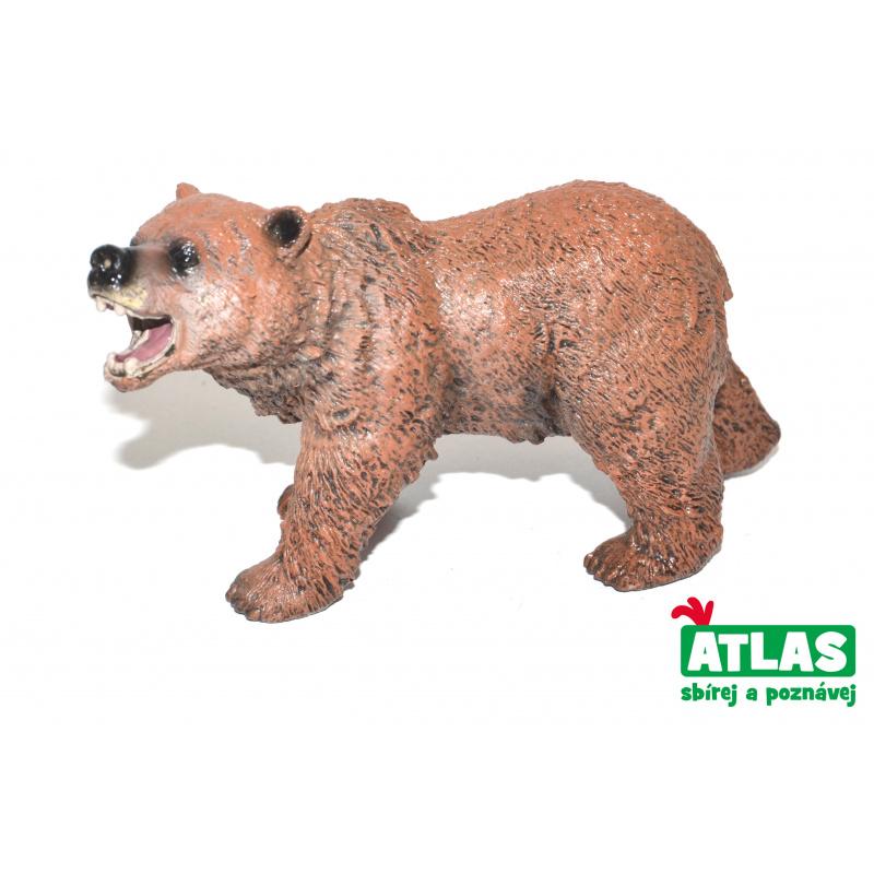 Figúrka Medveď hnedý 11 cm