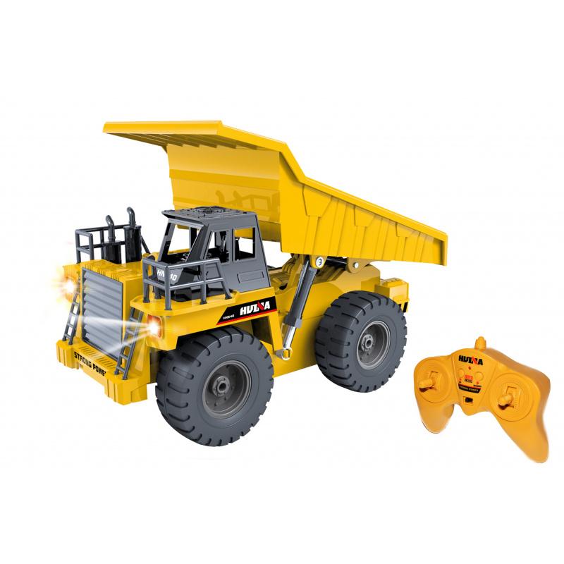 Auto - Důlní sklápěč RC na dálkové ovládání 28 cm