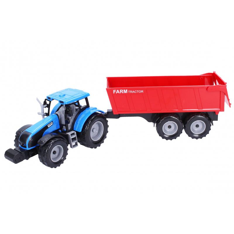 Traktor s vlečkou 42 cm