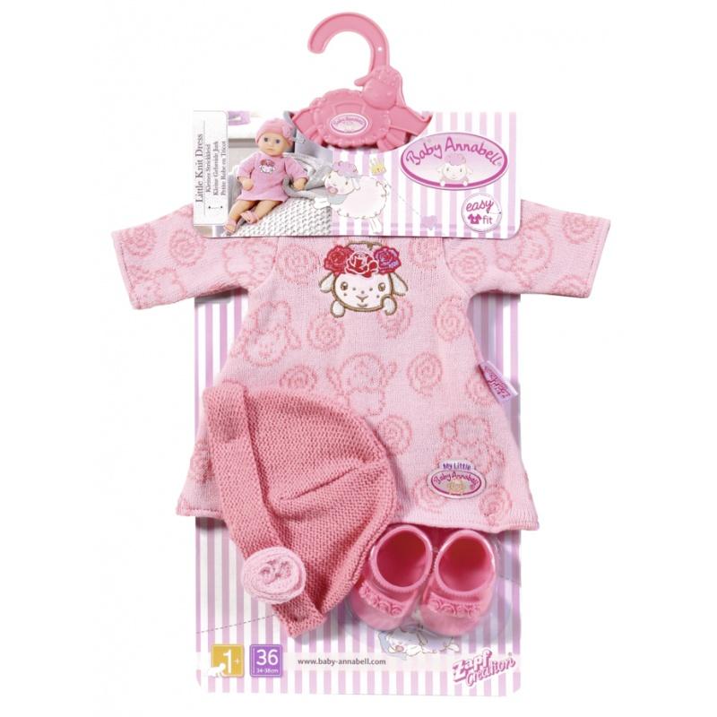 Baby Annabell Little  Pletené šatičky 36 cm 701843