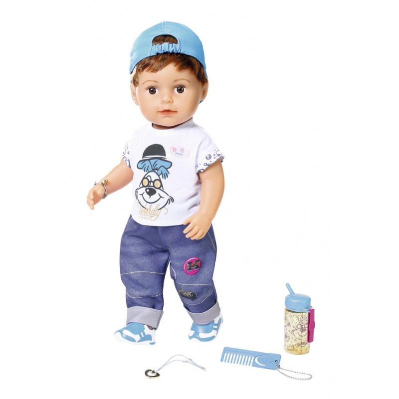 BABY born - Lalka interaktywna Braciszek 43 cm