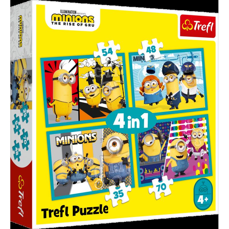 Puzzle Mimoni 4v1