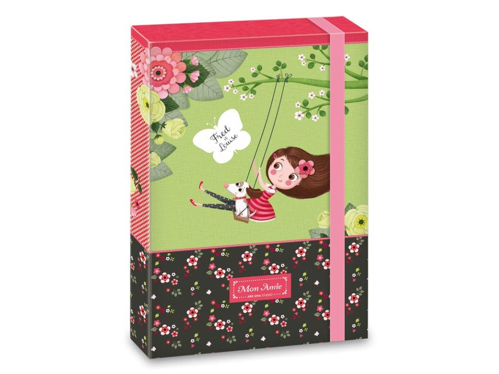 Box na sešity Mon Amie A4