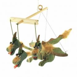 Drevené bábky - Drak