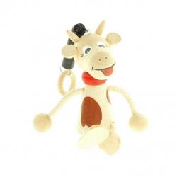 Krava na pružine