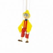 Dřevěné loutky - Pinocchio