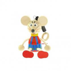 Myš na pružine
