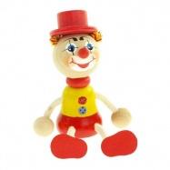 Panáčik klaun s klobúkom