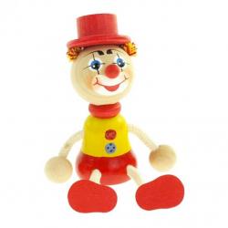 Panáček klaun s kloboukem