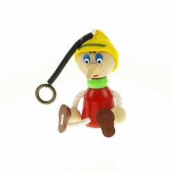 Pinocchio veľký na pružine