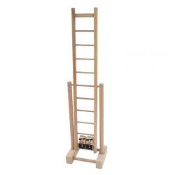 Drevené hračky - pretekajúci kominári na rebríku