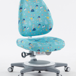 Snímatelný potah na židli Laura tyrkysový