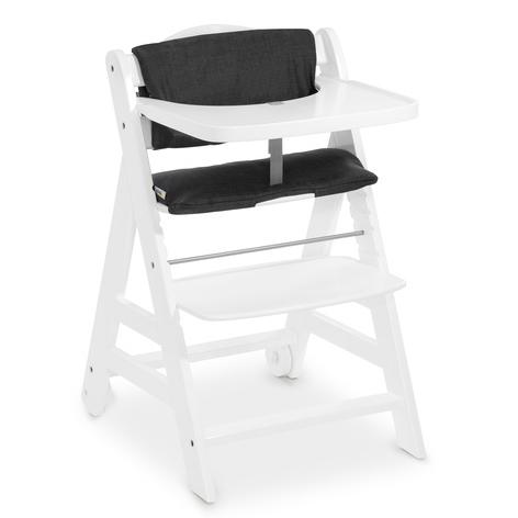 Rosnące krzesła dla dzieci BETA z pasami bezpieczeństwa white