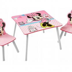 Dětský stůl s židlemi Minnie Mouse 30590-0