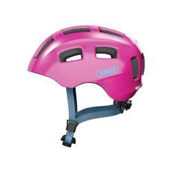 Dětská helma ABUS Youn-I 2.0 sparkling pink velikost M 52-57 CM