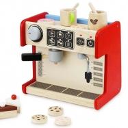 Dětský dřevěný kávovar