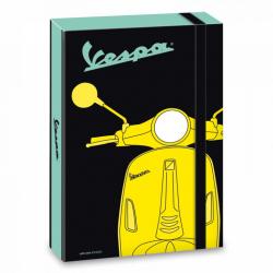 Box na sešity Vespa A4 tmavý