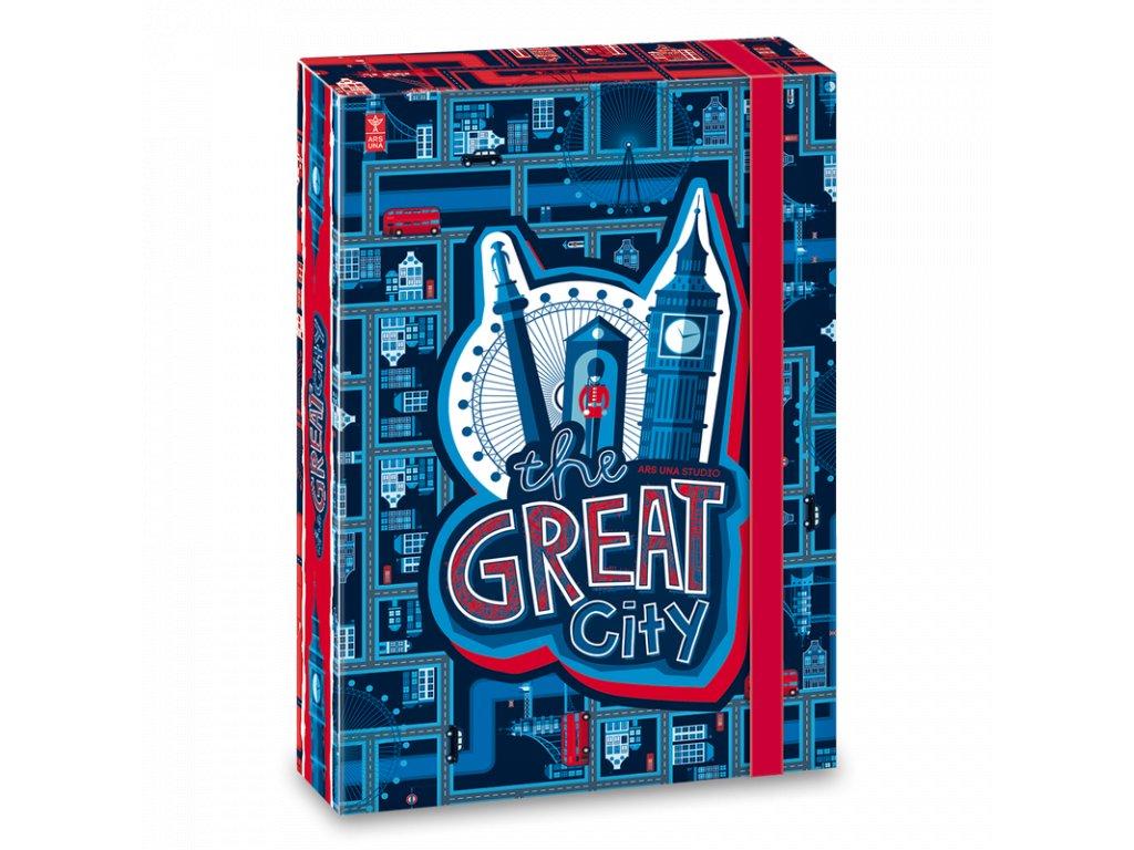 Box na sešity Great City A5