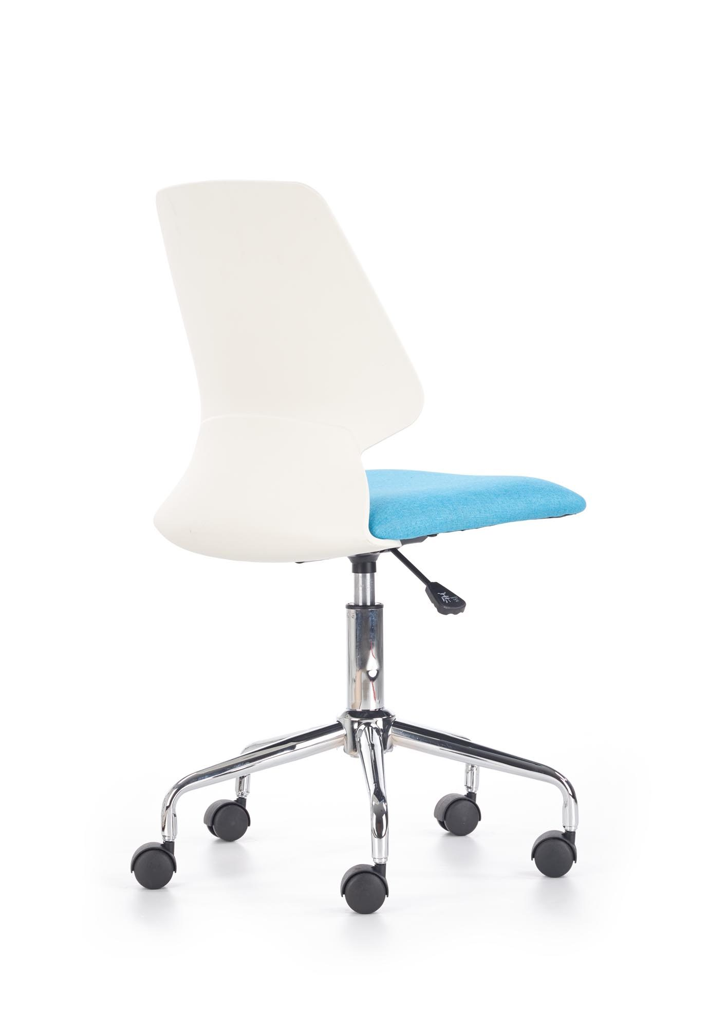 Dětská otočná židle Halmar SKATE modrá-bílá
