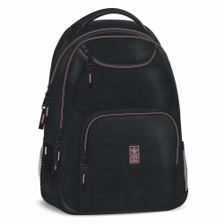 Ars Una Studentský batoh Autonomy AU6 černo-růžový