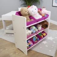 Ourbaby organizér na hračky TF4914-pink