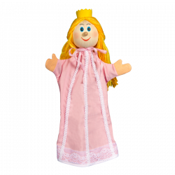 Maňásek 35 cm Princezna