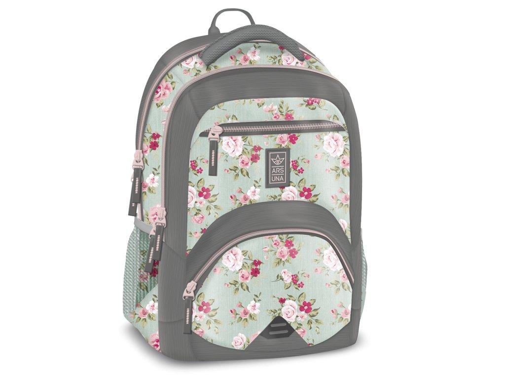 Ergonomický školní batoh Vintage Rose