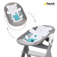 Hauck Alpha bouncer 2019 hearts grey