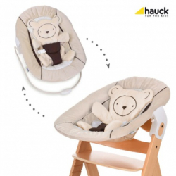 Hauck Alpha bouncer hearts beige