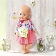 Baby born Šatičky 43 cm  826973 varianta 1 , 43 cm