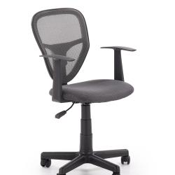 Dětská otočná židle SPIKER šedá